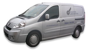 Chester Locksmiths Van